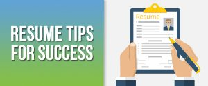 Resume Tips for Success